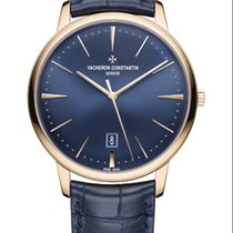 Vacheron Constantin Patrimony Rose gold 40mm Blue United States of America, Florida, North Miami Beach