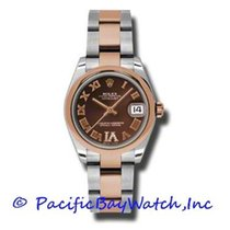 Rolex Lady-Datejust Steel 31mm Brown Roman numerals United States of America, California, Newport Beach