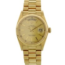 Rolex Day-Date Yellow gold 36mm Champagne United States of America, New York, New York