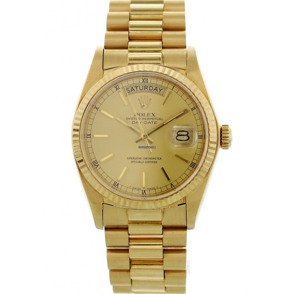 Rolex Oyster Perpetual Day,Date President 18038 Mens Watch