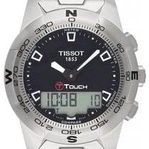 Tissot T-Touch II Zeljezo 42.7mm Crn