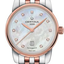 Certina DS Podium Lady Steel 29mm Mother of pearl No numerals