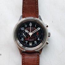 Poljot Steel 38mm Chronograph pre-owned