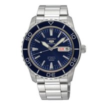 Seiko Steel 42mm Automatic SNZH53K1 new