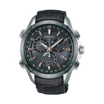 Seiko Astron GPS Solar Chronograph new 2019 Watch with original box and original papers SSE023J1
