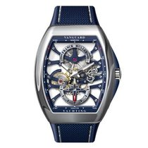 Franck Muller Vanguard V 45 S6 SQT YACHTING ANC Nieuw Staal 53.7mm Automatisch