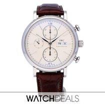 IWC Portofino Chronograph Otel Argint