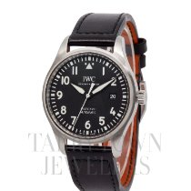 IWC Pilot Mark Steel 40mm Black Arabic numerals United States of America, New York, Hartsdale