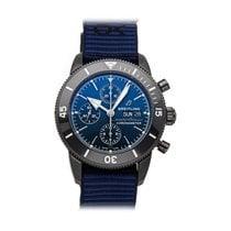 Breitling Superocean Héritage II Chronographe Ocel 44mm Modrá Bez čísel
