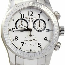 Tissot V8 Steel 43mm Silver Arabic numerals United States of America, New Jersey, Somerset