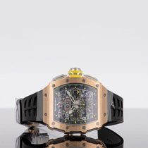 Richard Mille Rose gold 42mm Automatic RM 011 new