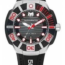 Technomarine Black Reef Steel 45mm Black