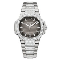 Patek Philippe 7014/1G-001 White Gold Ladies Nautilus 33.6mm ...