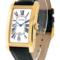 Cartier Tank Américaine Rose gold 30mm White Roman numerals