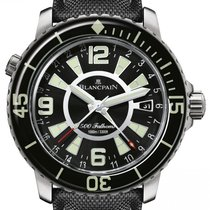 Blancpain 500 Fathoms nuevo 2021 Automático Reloj con estuche y documentos originales 50021-12b30-52b