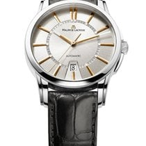 Maurice Lacroix Pontos Date Steel 40mm Silver