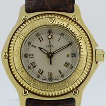 Ebel Discovery Yellow gold 28mm Roman numerals