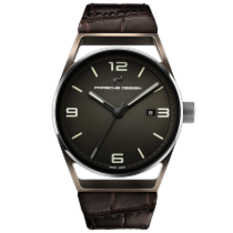 保时捷 1919 Datetimer Eternity Brown Alligator Leather