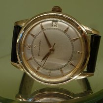 Eterna vintage gold cape 18ct auto screwback case