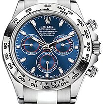 Rolex Cosmograph Daytona 116509 40mm Blue Index White Gold Oyster