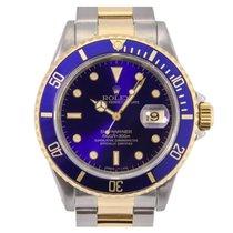 Rolex Submariner Date 16613 Steel & Gold Blue