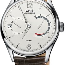 Oris Artelier Calibre 111 Steel 43mm Silver United States of America, New York, Airmont