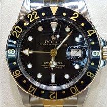 Rolex 16753 Goud/Staal 1980 GMT-Master 40mm tweedehands