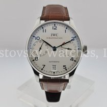 IWC IW500107 Steel Portuguese Automatic 42mm pre-owned United States of America, California, Beverly Hills