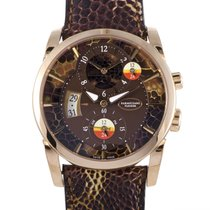 Parmigiani Fleurier new Automatic Display Back Small Seconds 42mm Rose gold