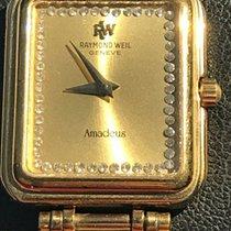 Raymond Weil 20mm Cuarzo usados Amadeus Oro