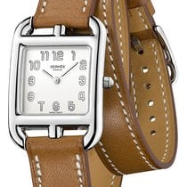 Hermès Cape Cod Steel 23mm Silver United States of America, New York, Airmont