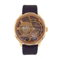 Hautlence pre-owned 41mm Brown Sapphire Glass 3 ATM