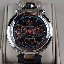 Bovet Chronograph 46mm Automatik gebraucht Sportster Schwarz