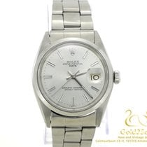 Rolex Oyster Perpetual Date Staal 34mm Zilver Geen cijfers Nederland, Amsterdam