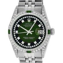 Rolex Datejust Acero 36mm Verde
