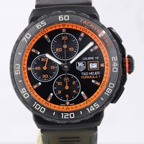 TAG Heuer Formula 1 Calibre 16 Titanium 44mm Zwart Geen cijfers