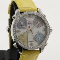 Jacob & Co. 5 Times Zones - Steel with Diamonds -Perfect...