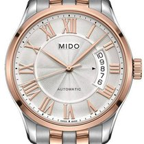 Mido Steel 40mm Automatic M024.407.22.033.00 new