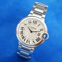 Cartier Ballon Bleu 36mm Steel 36mm Silver Roman numerals United Kingdom, Kent