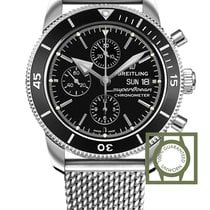 Breitling Superocean Héritage II Chronograph 44 mm Steel Case...