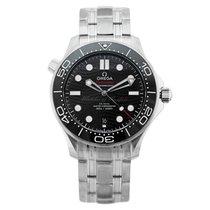 Omega Seamaster Diver 300 M Çelik 42mm Siyah