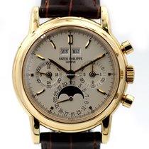 Patek Philippe Perpetual Calendar Chronograph Žluté zlato 36mm Bez čísel