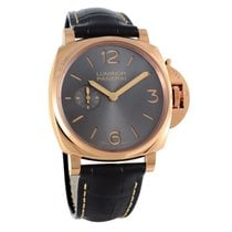 Panerai Rose gold Manual winding pre-owned Luminor Due
