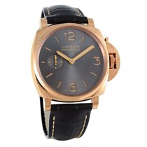 Panerai Oro rosado Cuerda manual usados Luminor Due