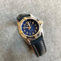 Breitling Callistino Gold/Stahl 28mm Blau Arabisch Deutschland, Waltrop