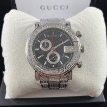Gucci G-Chrono Сталь 44mm Чёрный