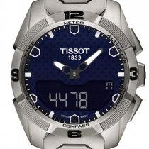 Tissot T-Touch Expert Solar Titan 45mm Sort