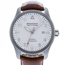 Bremont Steel 43mm Automatic WH-SI pre-owned United States of America, Georgia, Atlanta