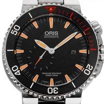 Oris Carlos Coste Limited Edition rabljen 46mm Crn Datum, nadnevak Zeljezo