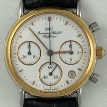 IWC Portofino Chronograph IWC Schaffhausen Portofino Chronograph 18K Gold S/S Quartz 2000 pre-owned
